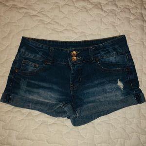 Refuge: Blue Jean Shorts